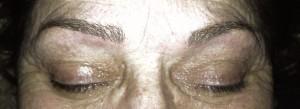 permanent makeup,före och efter